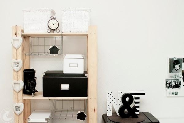 domowe biuro inspiracje, aranżacje