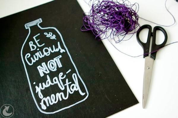 DIY dom - tablice motywacyjne, farba tablicowa, zrób to sam