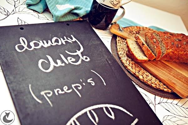 domowy chleb pełnoziarnisty przepis | z piekarnika