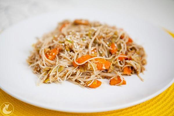 przepis na makaron po chińsku | chińskie danie z makaronem