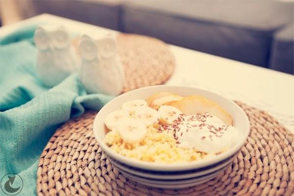Kasza jaglana na słodko szybkie i proste śniadanie