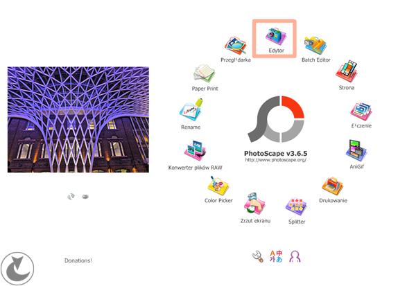 Photoscape - darmowy program do obróbki, jak obrobić zdjęcia