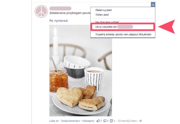 facebook jak obserwować stronę