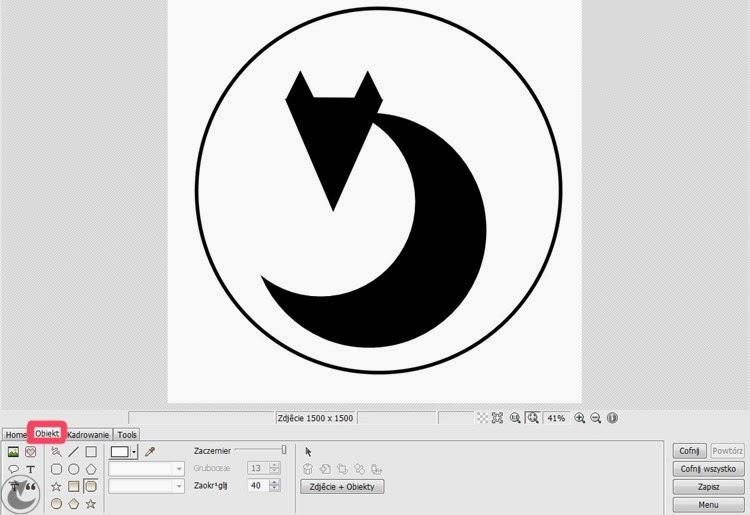 poradnik jak zrobić logo w photoscape