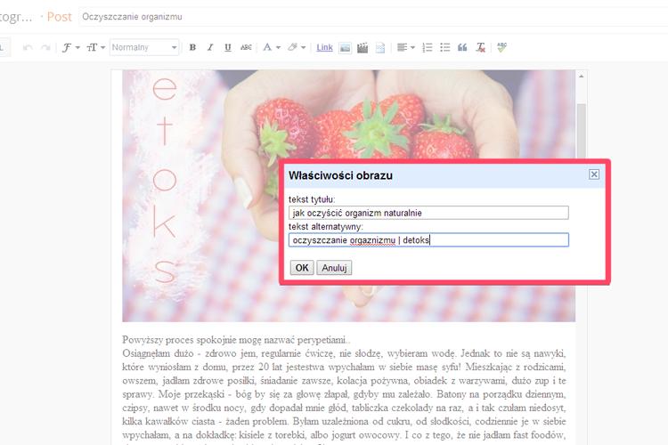 SEO blogger | jak optymalizować zdjęcia