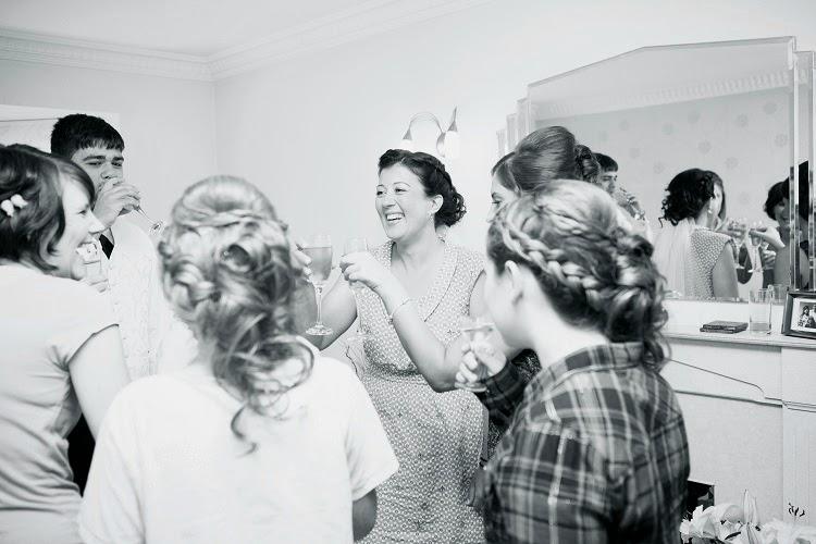 toast na ślubie