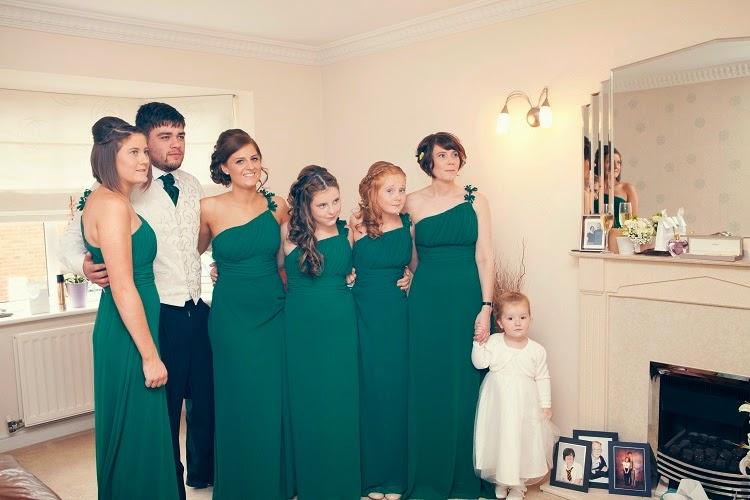 zielony - motyw przewodni ślubu wesela