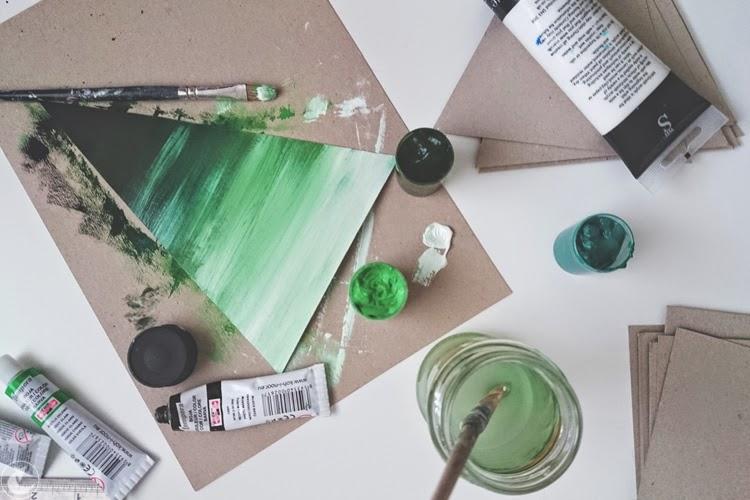 jak zrobić girlandę z papieru DIY