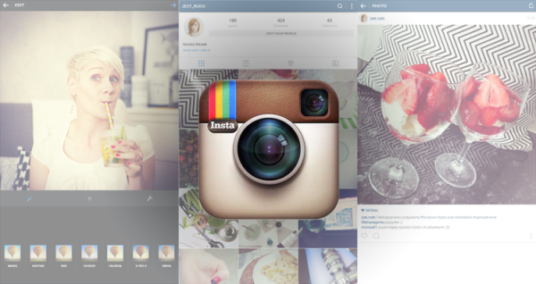 instagram na komputer