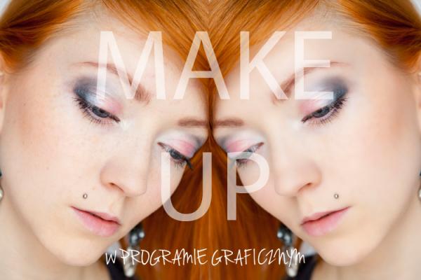 fotografia makijażu gimp triki