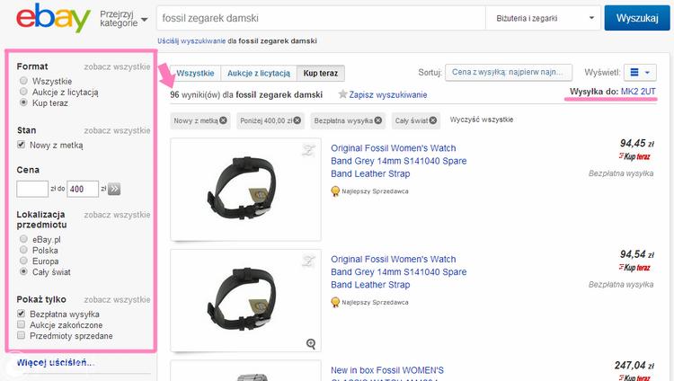 jak kupować na ebay, jak się zerejestrować