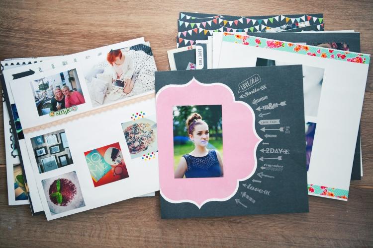 album fotograficzny DIY