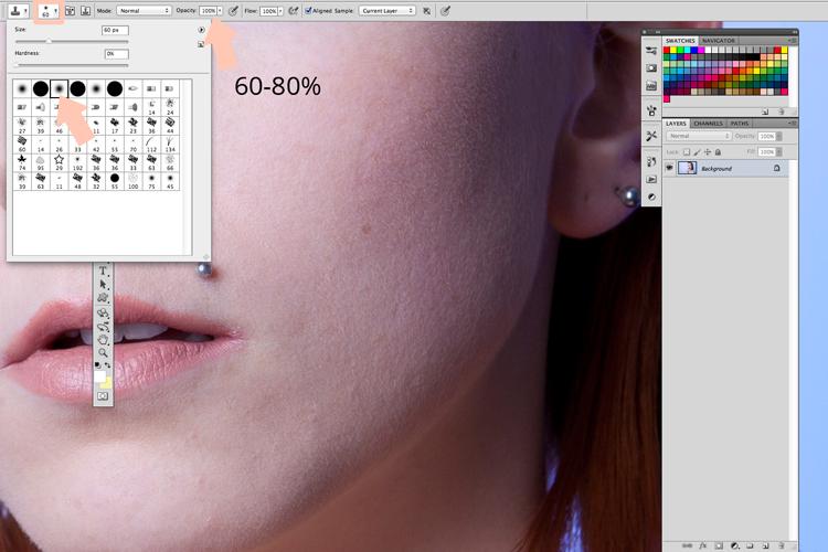 profesjonalny retusz w Photoshopie
