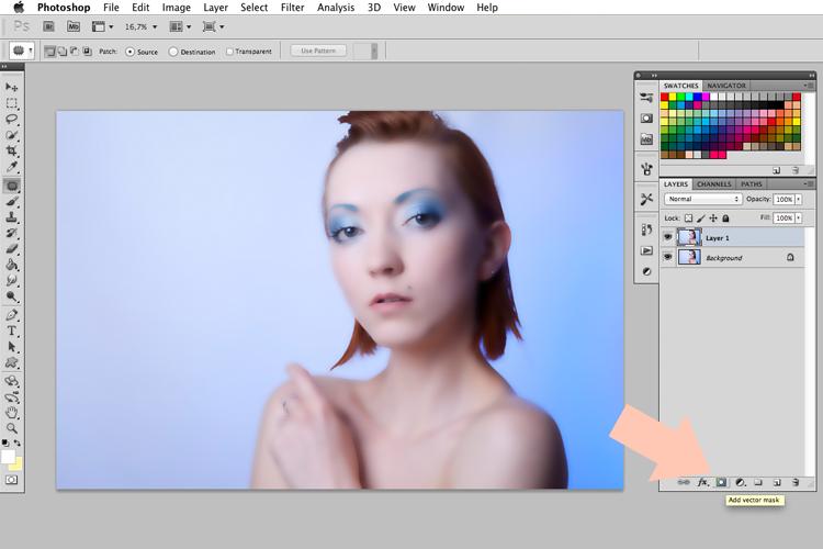 jak wygładzić skórę Photoshop
