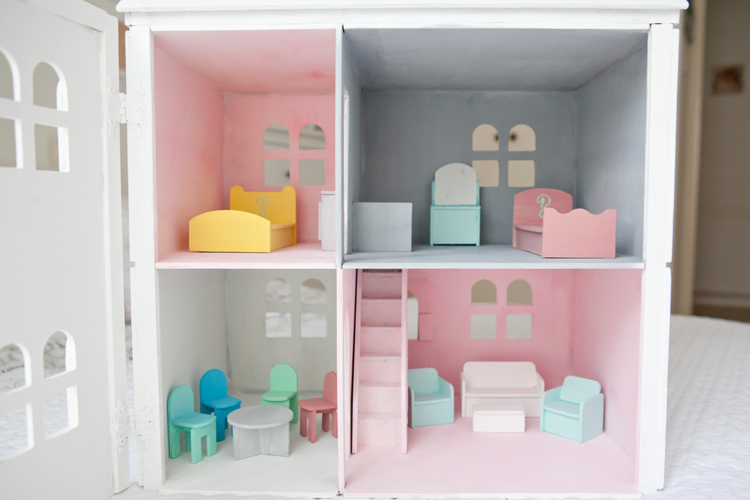 domek dla lalek DIY
