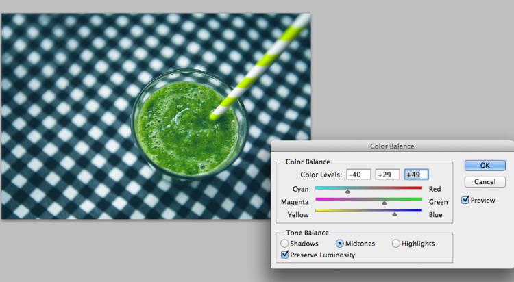 jak edytować kolory Photoshop