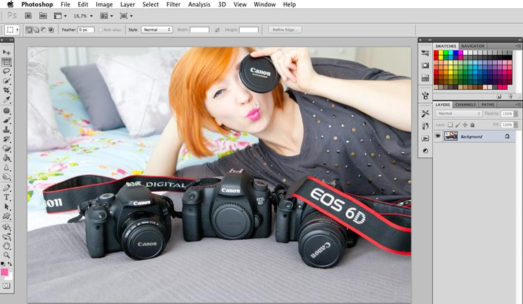pastelowe zdjęcia GIMP i Photoshop