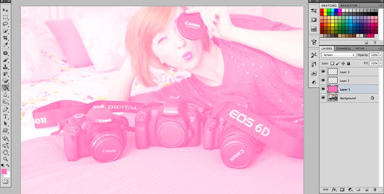 obróbka zdjęć w stylu retro Photoshop Gimp - zdjęcia retro