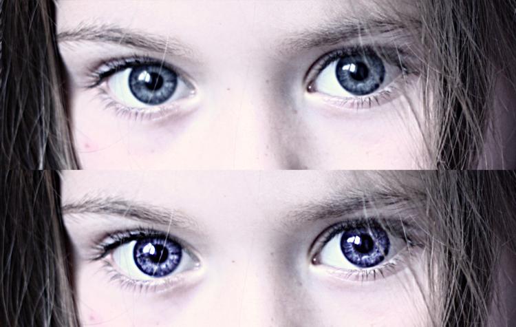 magiczne oczy na zdjęciu poradnik