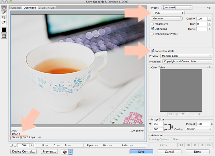 jak przygotować zdjęcia na bloga