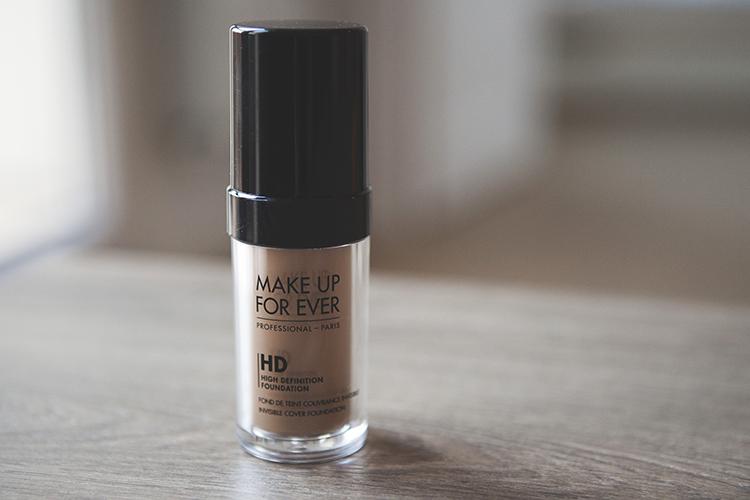 make up for ever podkład hd