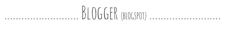 porównanie wordpress i blogger (blogspot)