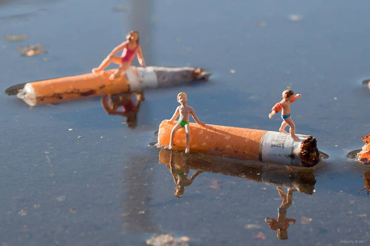 fotograf slinkachu | little people project