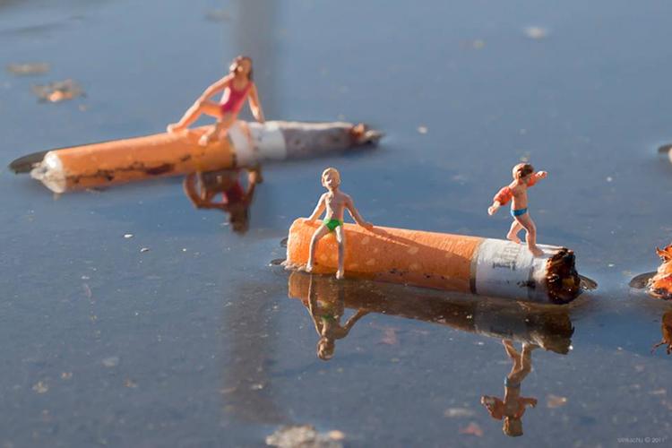 fotograf slinkachu   little people project