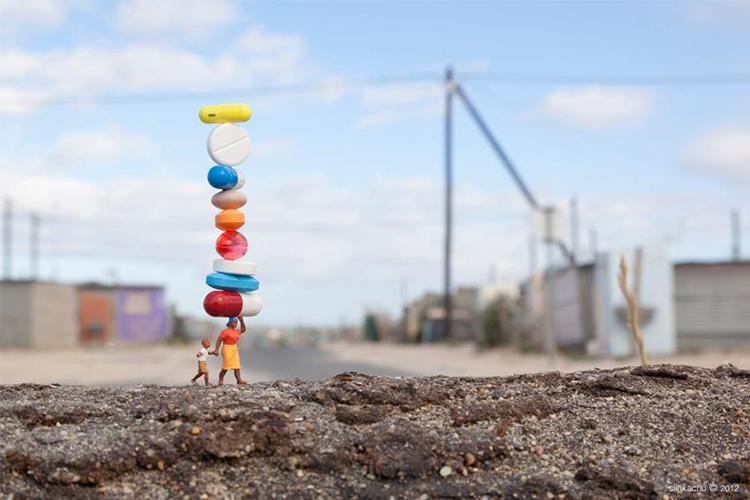 fotograf slinkachu | little people project