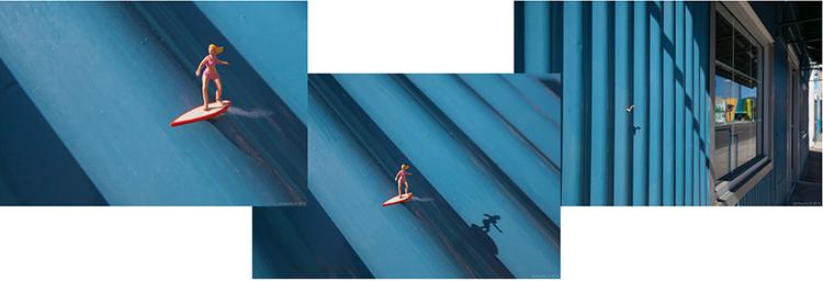 Slinkachu fotograf artysta