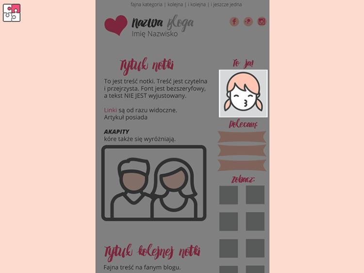 jak zrobić design bloga