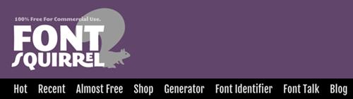 darmowe fonty na stronę i na blog