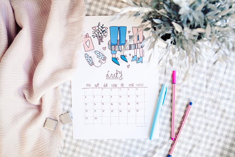 kalendarz 2017 pdf do wydruku