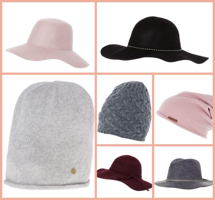kapelusze i czapki wełniane na zimę