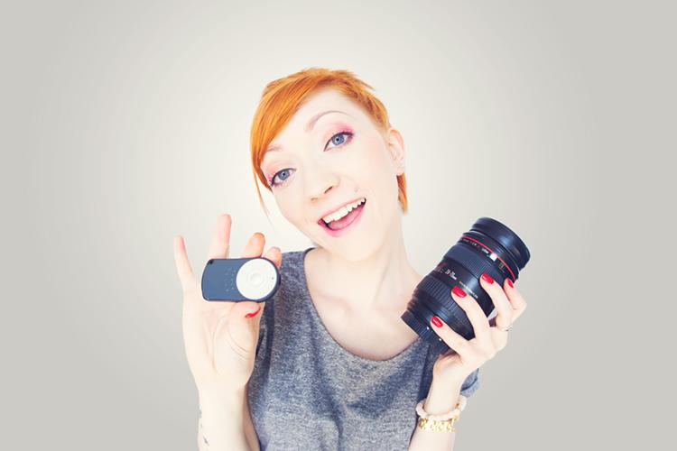 Nauka fotografii w domu