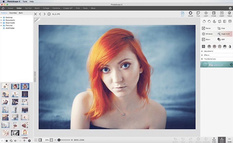 darmowy program do obróbki zdjęć - mój ulubiony Photoscape