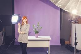zestaw domowe studio fotograficzne - lampy led