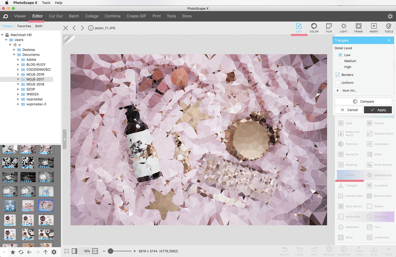 photoscape mozaika