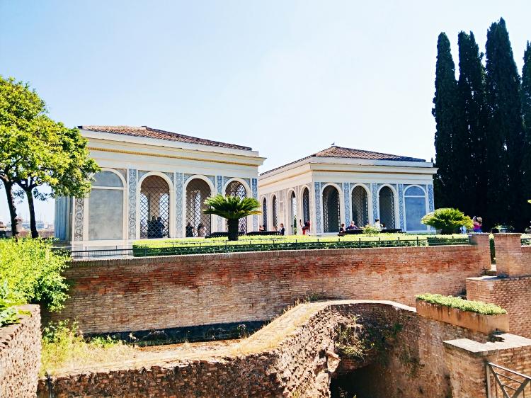 palatyn i koloseum