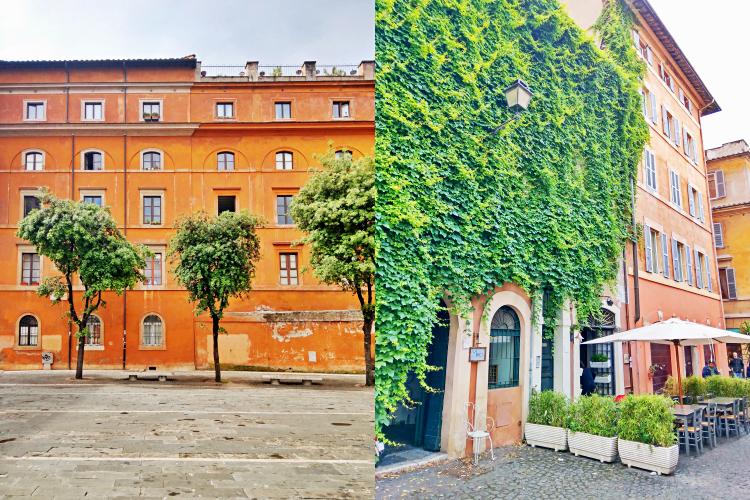 Zatybrze - Rzym