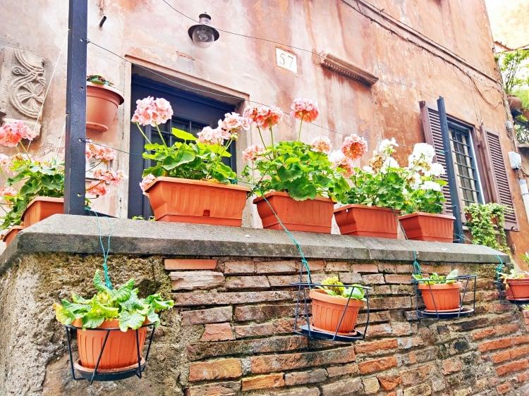 Zatybrze - Trastevere w Rzymie