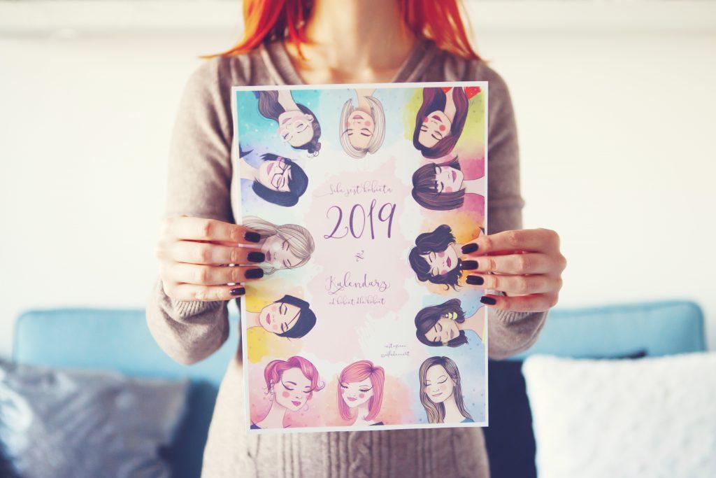kobiecy kalendarz PDF