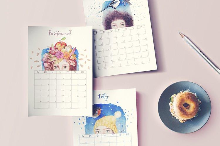 Darmowy kalendarz 2020 do druku do pobrania