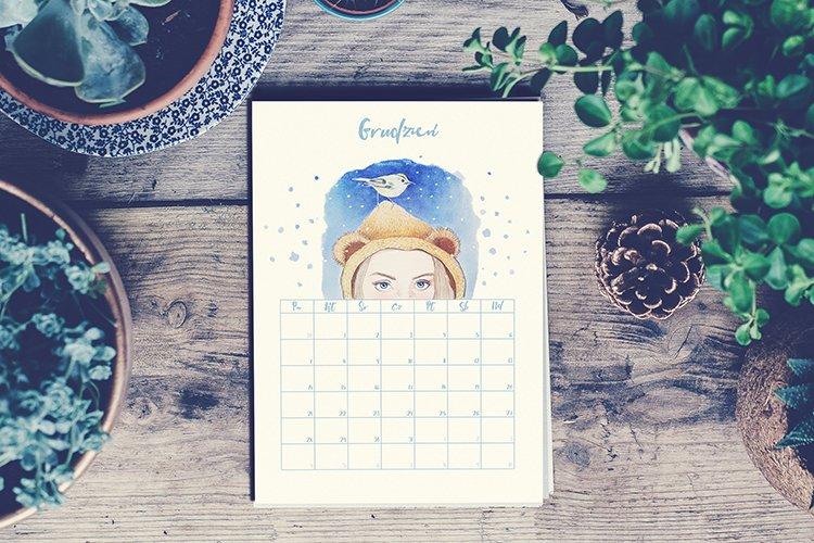 Darmowy kalendarz 2020 do druku - do pobrania (PDF)